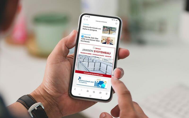 Jansen Tore Google Ads Display Anzeigen