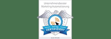 KlickTipp Zertifikat
