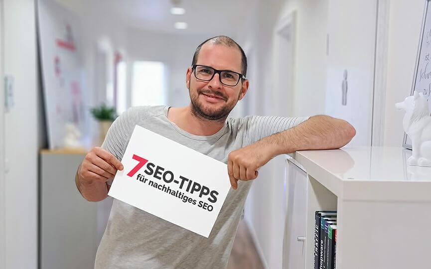 7 SEO-Tipps für nachhaltige SEO von Patrick Niessen